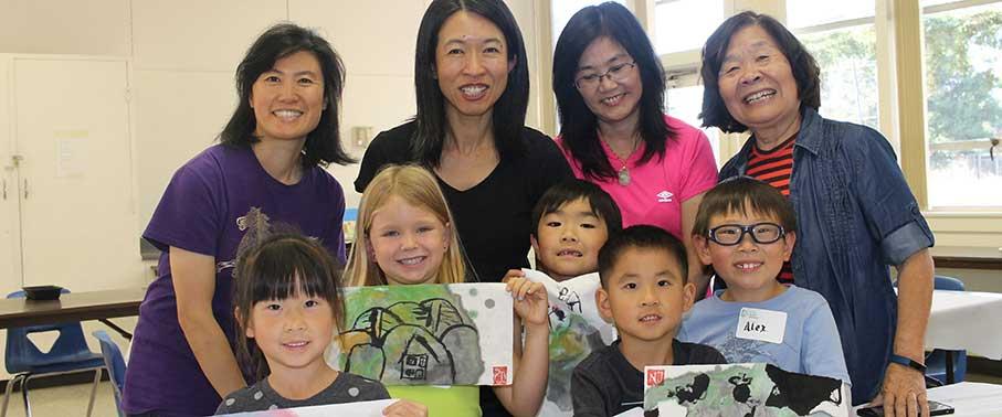 Splash Ink-and-Color Family Workshop