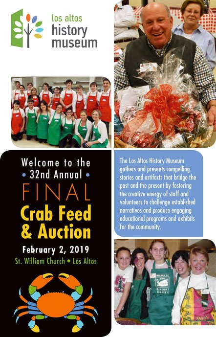 32nd Annual FINAL Crab Feed & Auction