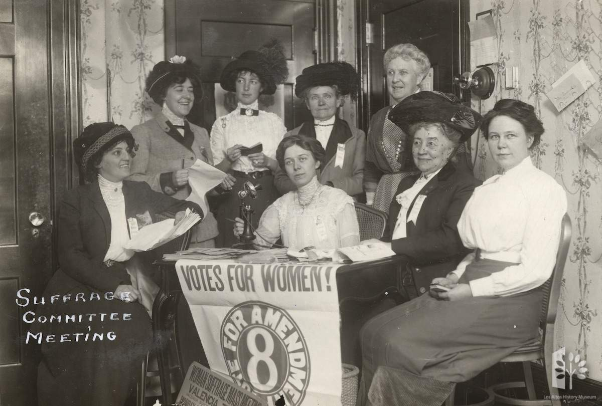 Women's Suffrage in Santa Clara County