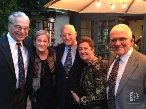 Allart Ligtenberg, Julie Rose, Bob Grimm, Jane & John Reed, 2014.