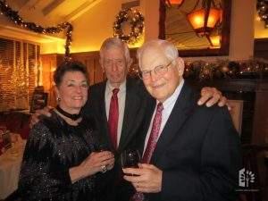 Jane with Al Bagley & Cort VanRensselaer, 2011.