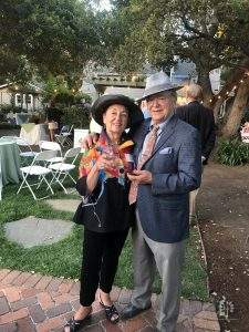Jane and Rich Zalisk at Winchester/Merriman Garden Party, Jun 14, 2019.