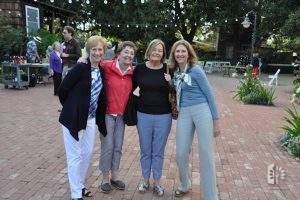 Linda Eckols, Jane Reed, Marie Backs, Kristen Fuller, 2016 Annual Meeting.