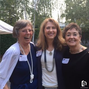 Marilyn Henderson, Kristen Fuller & Jane Reed at Committee Chair Party 2016.