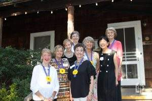 Past presidents celebrate Museum's 40th, June 2017.