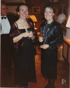 Penny Lave and Jane Reed, 1987.