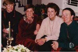 Terry Krivan, Julie Rose, Jane Reed, & Penny Lave, 1994.