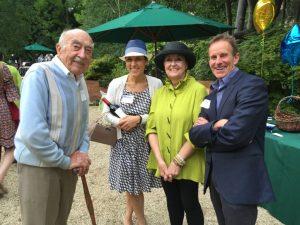 Wendell Roscoe, Brianna Cutts, Jane & Donald Sibbetts, Geschke Garden Gala, 5/7/2016.