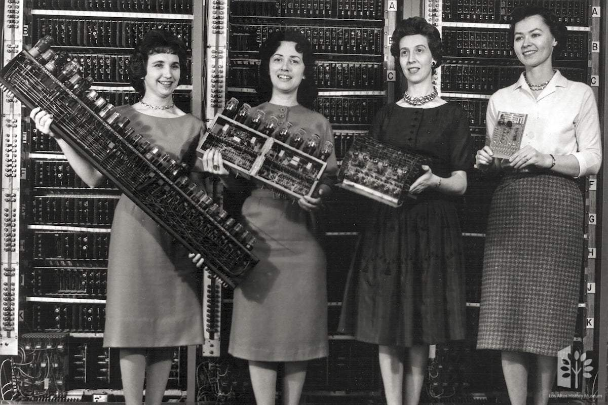 Women in Tech: Then and Now