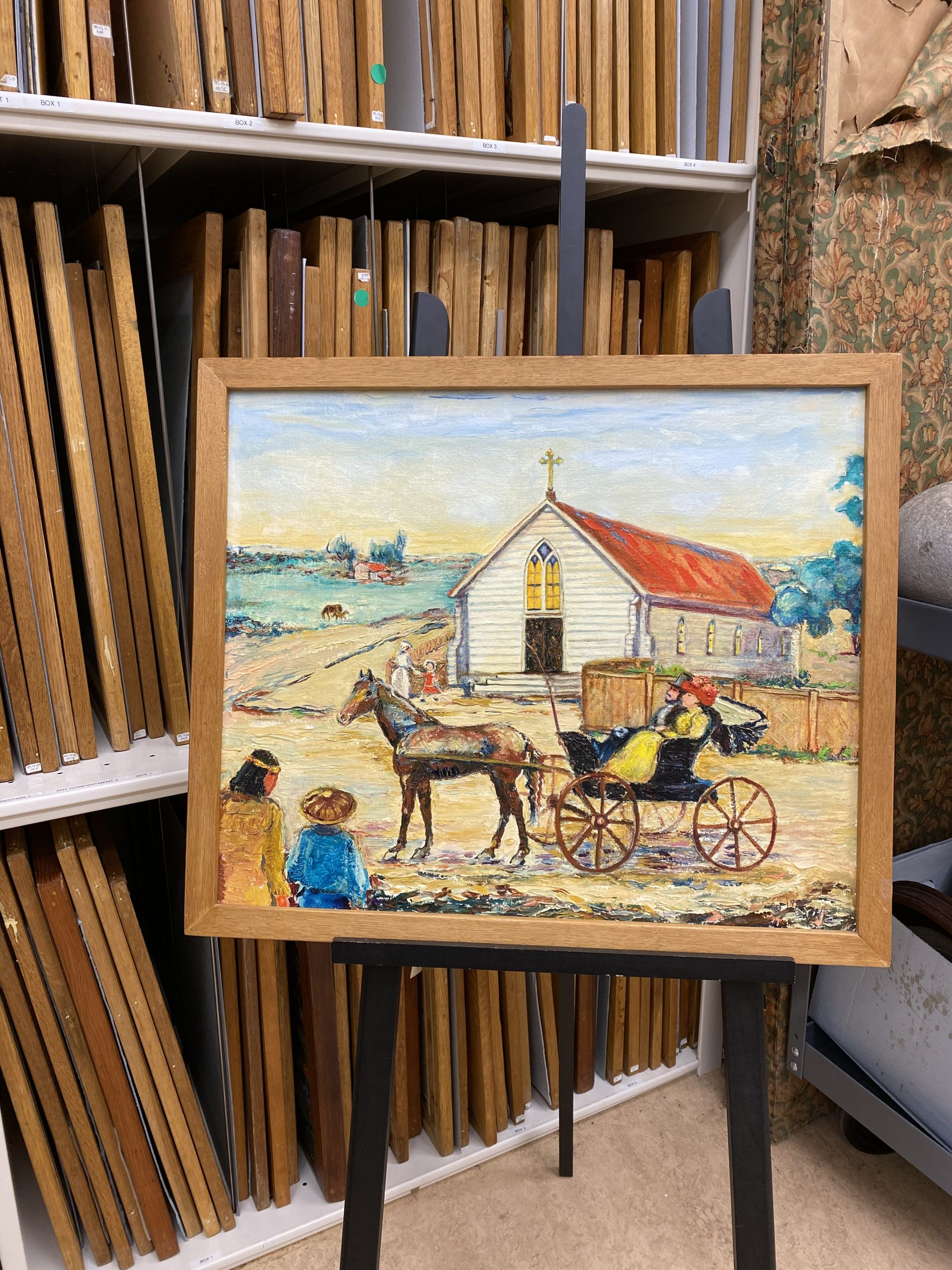 Anna Knapp Fitz art is accessioned.